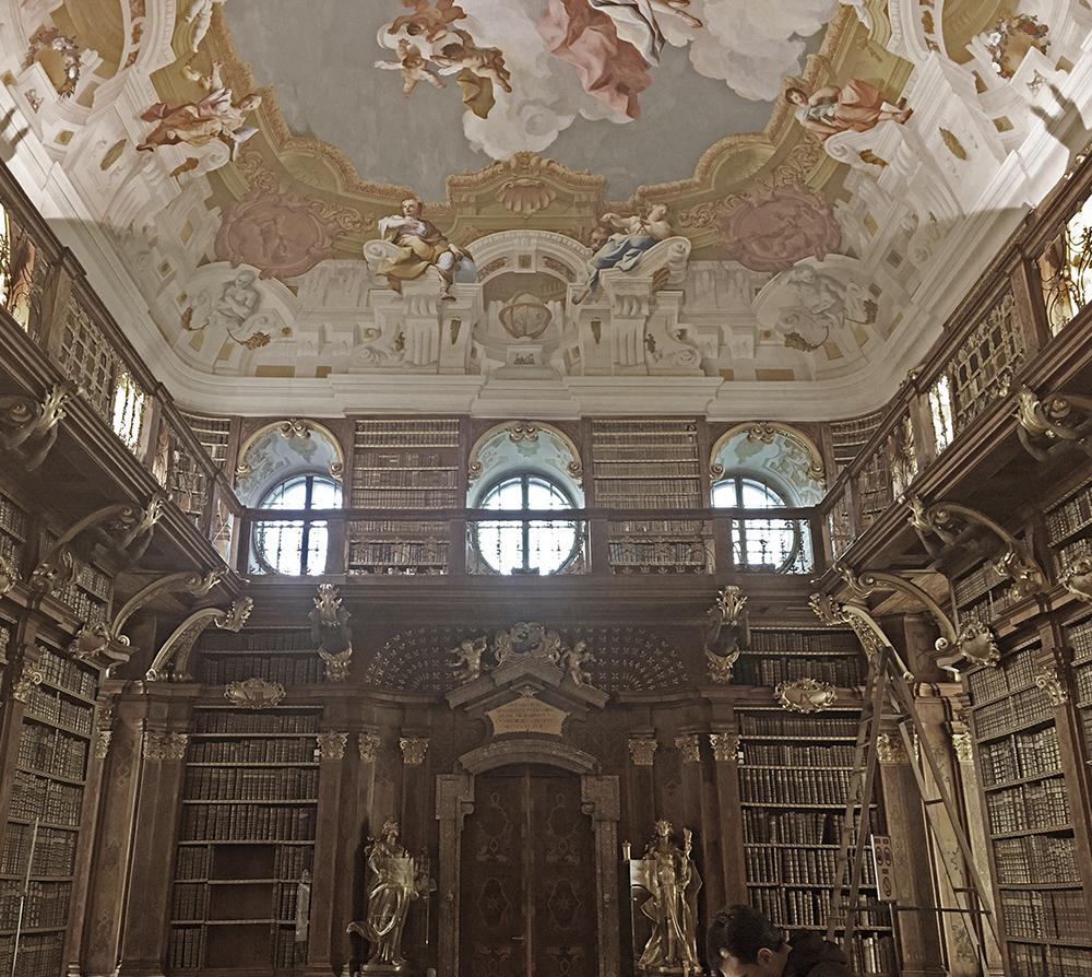 bibliothek-stift-melk-wachau