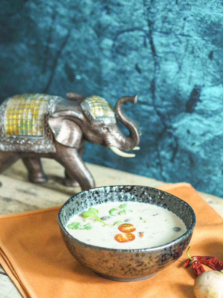 Ya's Tom Kha Gai Suppe aus der Blue Lagoon