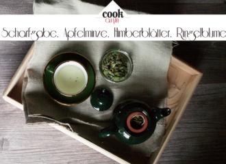 Kräutertee | Scharfgabe, Apfelminze, Himberblätter, Ringelblume