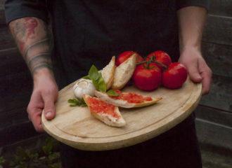 Pan con Tomate katalanische Tapas aus Barcelona