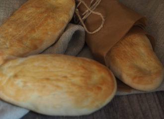 schnelles und einfaches Pita Brot