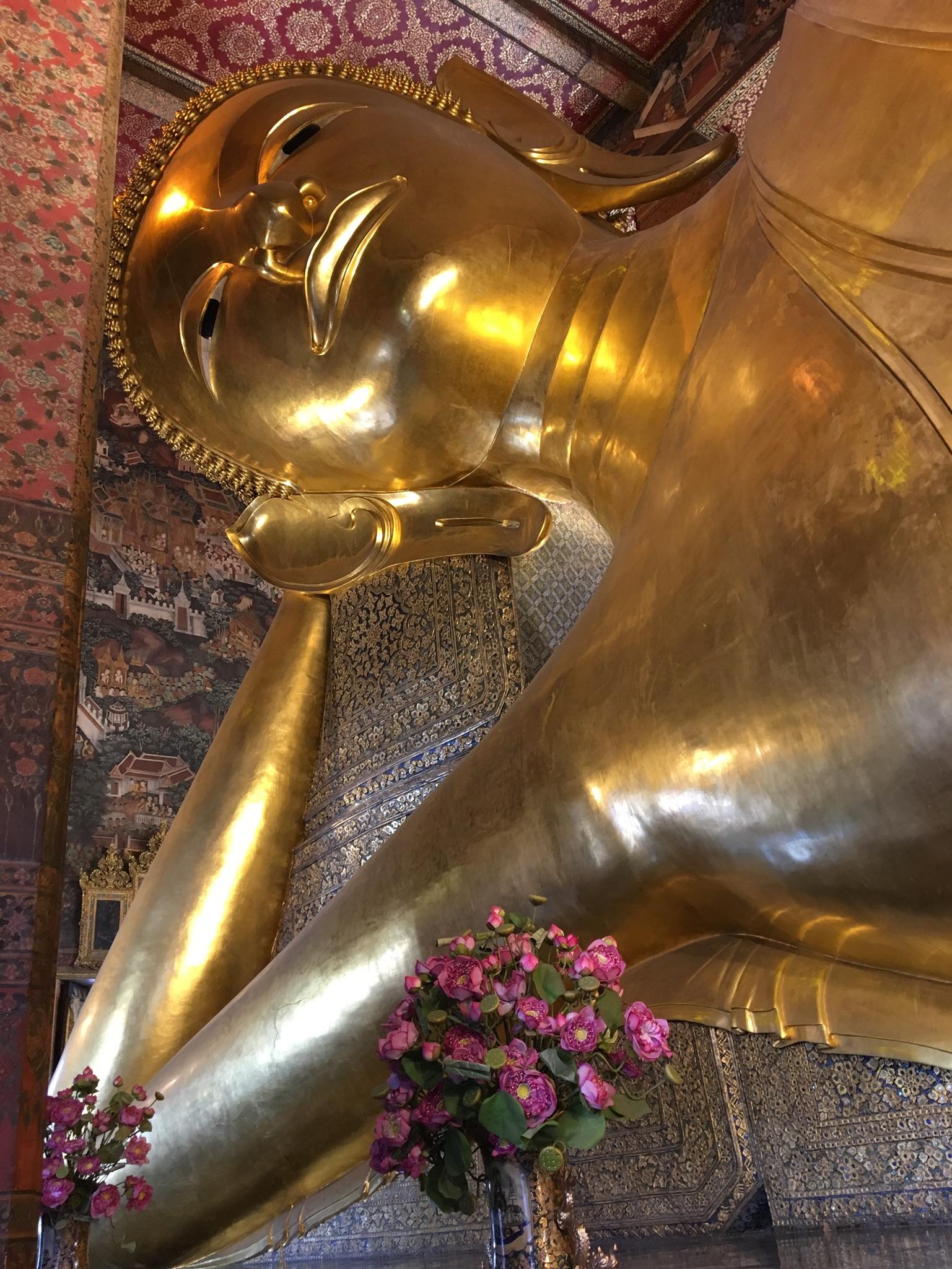 Wat Pho liegender Buddha Bangkok (3)