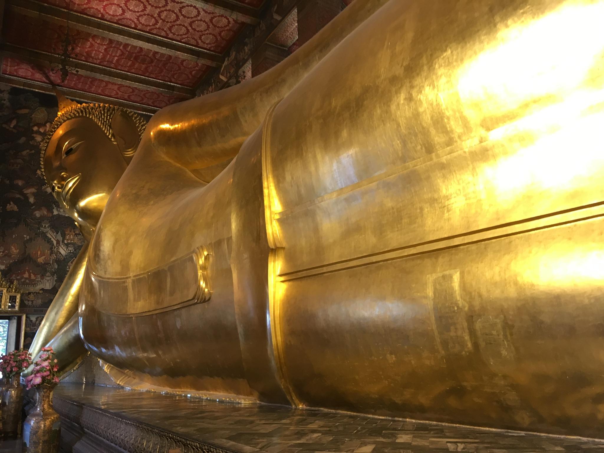 Wat Pho liegender Buddha Bangkok (4)