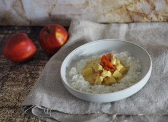 Hühnchen-Curry mit Apfel und Karotte