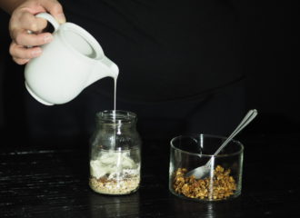 overnight oats mit granola