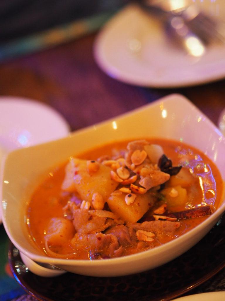 Thailändische-Küche-Massamam-Curry